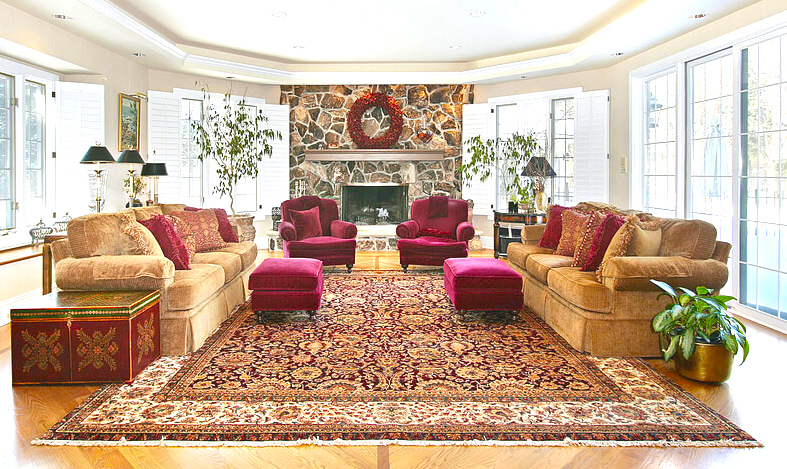 carpet-installation-in-living-room-carpet-or-floor-rugs-with-large-rugs-with-ornament-carpet-pattern-for-spacious-living-room-interior-designs