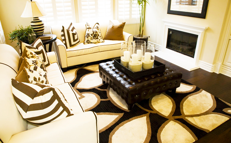 carpet-prices-in-the-living-room-carpet-stores-with-cheap-carpet-for-small-living-room-layout-with-black-and-white-carpet-above-the-leather-tufted-black-coffee-table