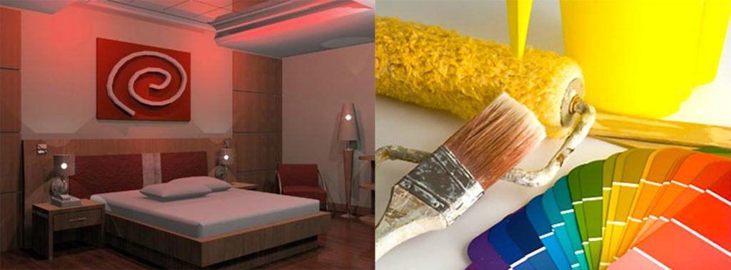 color-bedroom-with-diy-projects-for-home-improvements-with-lighting-bedroom-ideas-with-red-color-bedroom-decor
