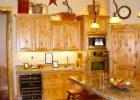 Wooden Oven Cabinets Wine Kitchen Decor Ideas
