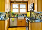 gallery kitchen for small kitchen design and white cabinets