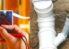 sewerage and electrical systems to help with home improvements