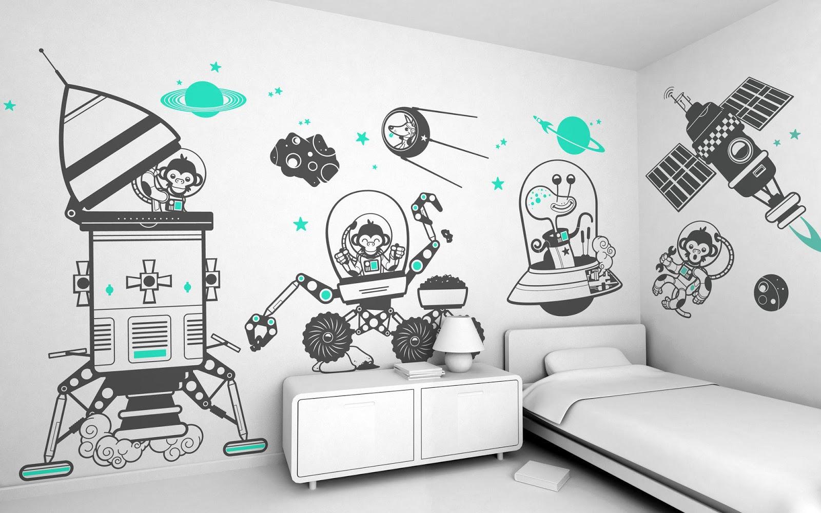 wall-art-for-kids-bedrooms-by-best-modern-interior-designer-for-kids-modern-bedroom-designs-in-white-bedroom-furniture