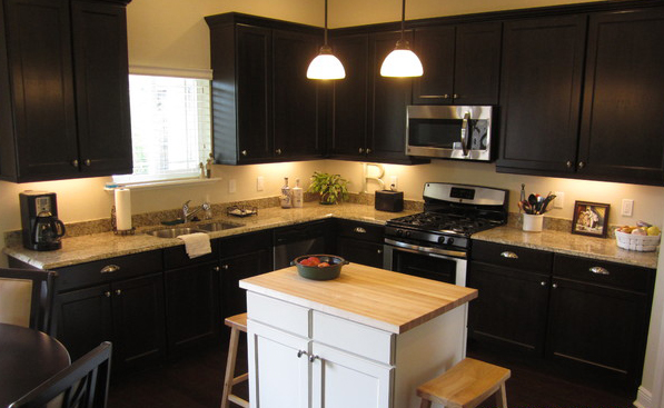 Dark-ideas-design-RTA-Espresso-Kitchen-Cabinets-with-White-Island-and-custom-kitchen-cabinets-remodel