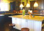 luxury rta espresso kitchen cabinets with white island 4