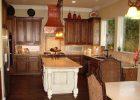 luxury rta espresso kitchen cabinets with white island 6