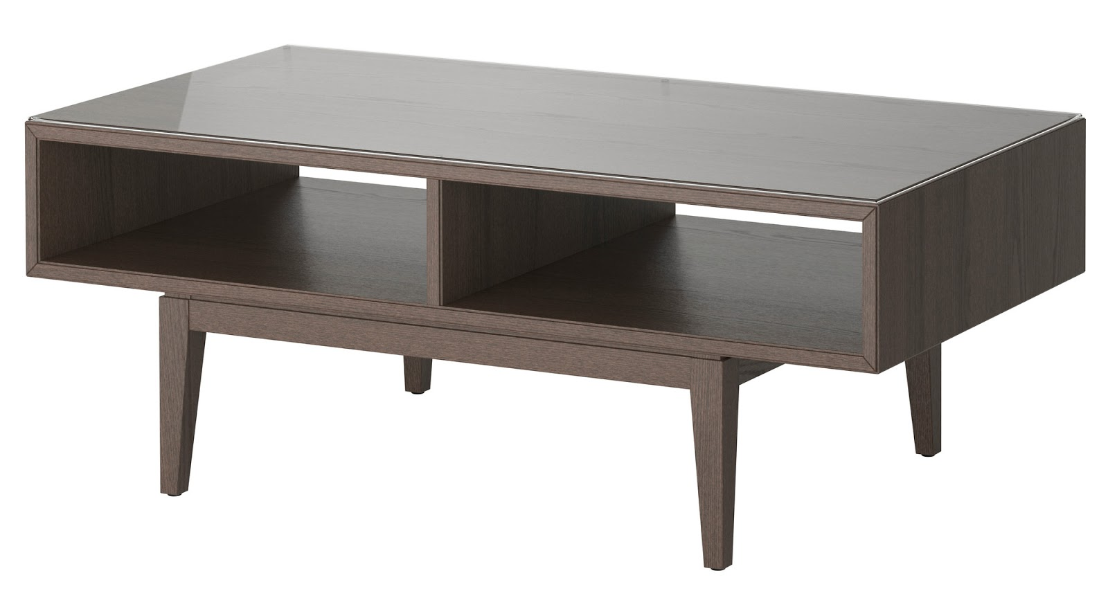 Two Coffee Tables Living Room Shiraleah Rubberwood