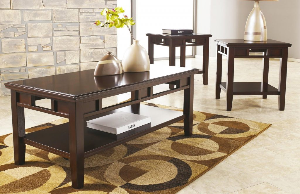 small-modern-coffee-tables-set-and-end-tables-for-living-room-with-black-colid-wood-coffee-table-designs-with-racks-storage-ideas