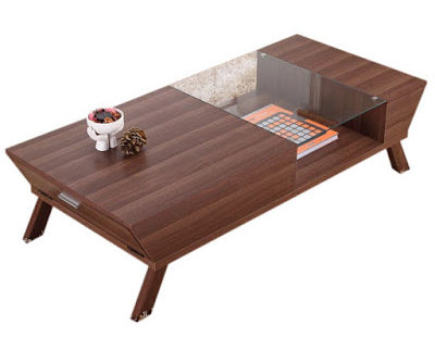 small-modern-design-coffee-table-sets-for-cocktail-tables-made-from-glass-and-maple-wood
