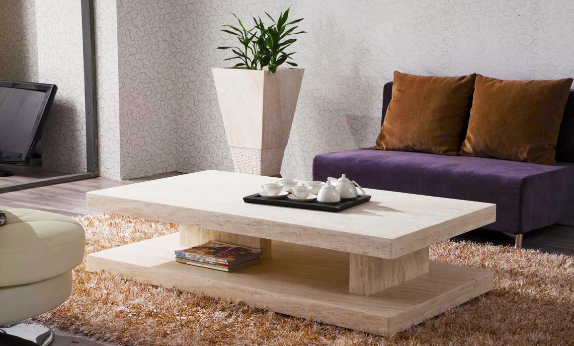 How to set living room coffee tables properly part1 roy home white modern coffee table in furniture store with geotapseo Choice Image
