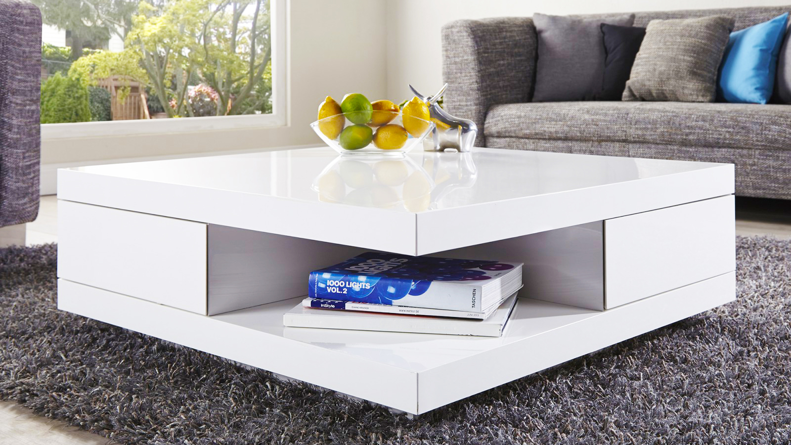 How to set living room coffee tables properly part1 - Brickmakers coffee table living room ...