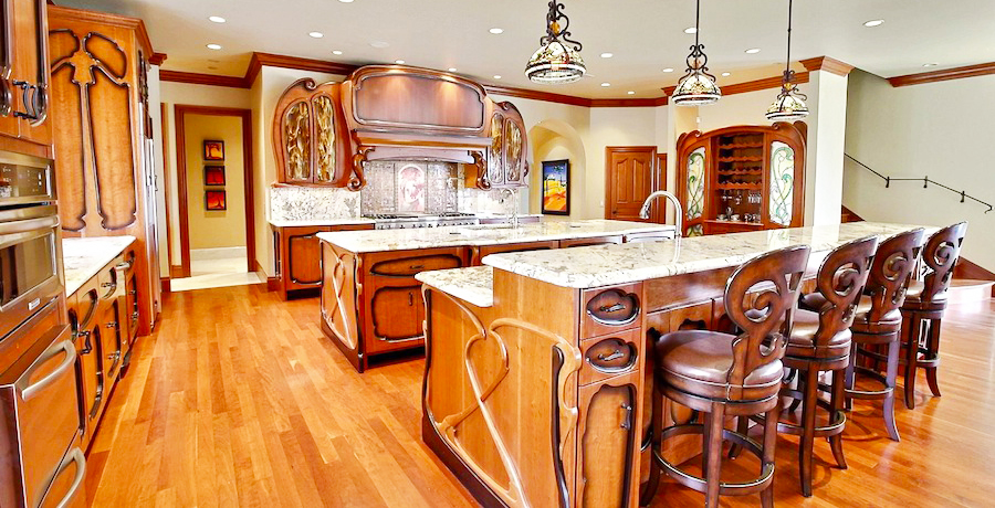 art-nouveau-home-design-decor-ideas-for-home-with-cheap-interior-decorating-stores-with-wooden-kitchen-interior-designs-ideas-and-wood-kitchen-island-also-solid-wood-cabinets