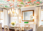ceiling wallpaper tips for dining room and wallpaper a room also how to paint wallpaper