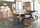 contemporary style furniture in dining room with contemporary style interior design