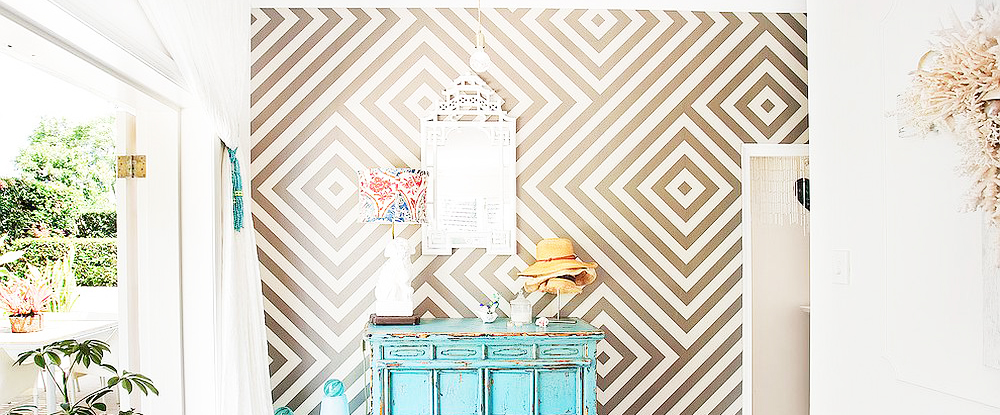 geometric-wallpaper-tips-without-removing-wallpaper-glue-from-plaster
