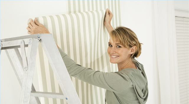 install-wallpaper-tips-and-tricks-with-wallpaper-techniques-and-removing-wallpaper-glue-from-wall-with-stripes-pattern