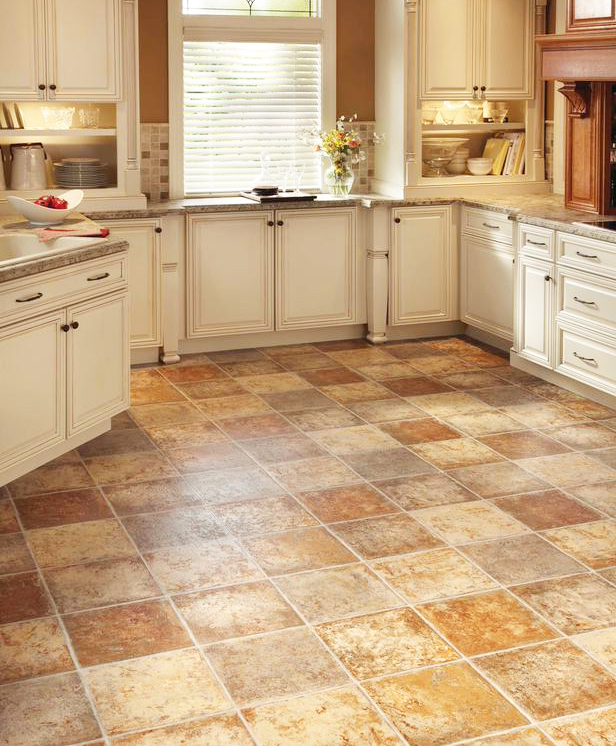 Kitchen floor remodel ideas to get best kitchen floor coverings and make beautiful kitchen floor tiles for interior home design with pictures
