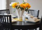black round table with decorate a dining room for decorate kitchen table and ideas to decorate a dining room