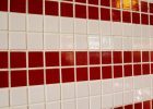 ceramic tiles for walls with 2 inch ceramic tile or small ceramic tiles in red and white color