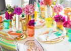 colorfull decorated dining tables with how to decorate a dining room