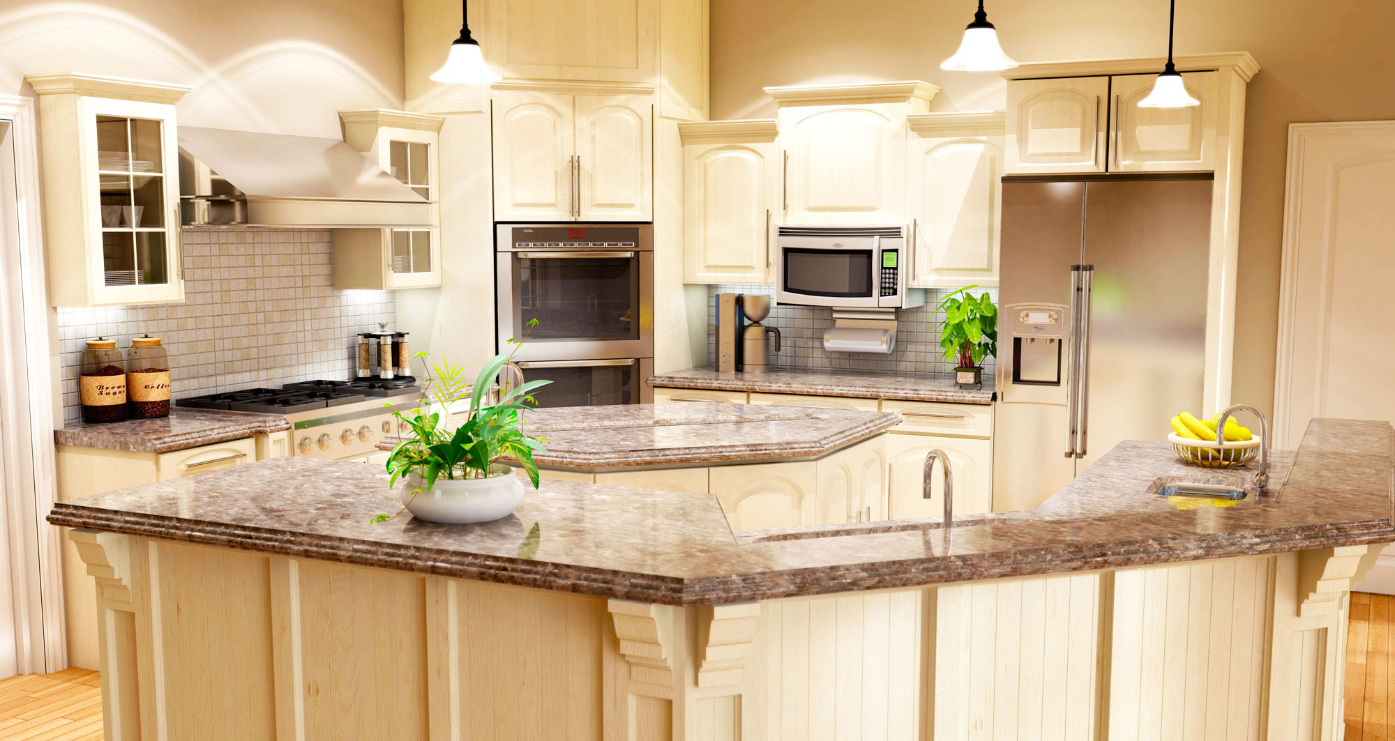Kitchen Decorating Ideas White Cabinets