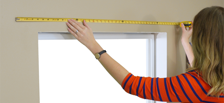 Window Blinds Installation How To Measuring Accurately