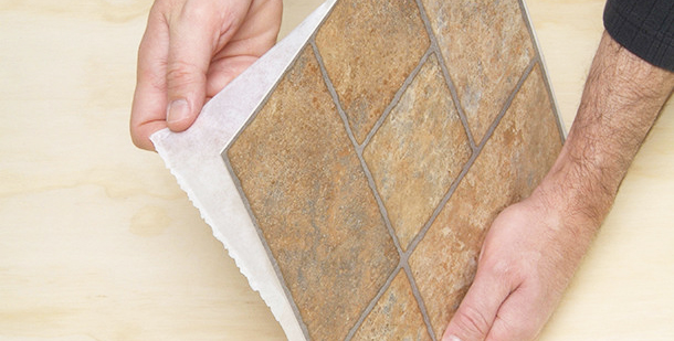 Best guide floor tile installation for ready-adhesive vinyl tiles - diy floor tile installation without floor tile installation contractors