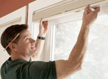 Window blinds installation for measuring accurately feature blinds installation in the outside, inside window recess and hanging blinds roll