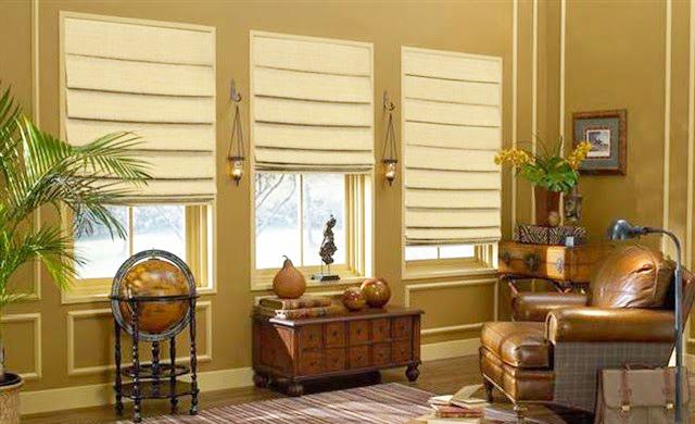 Roman Blinds Diy Instruction for Windows Decorations