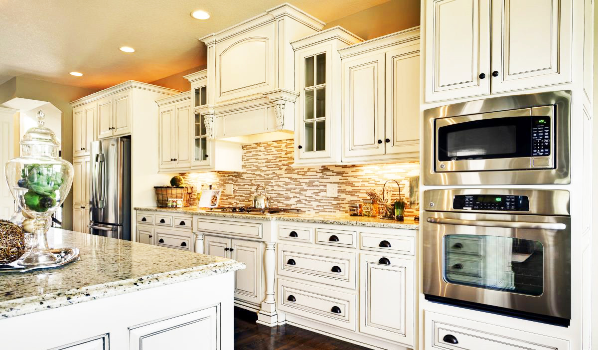 Classic White Kitchen White Kitchen Cabinet For Greatlooking Kitchen Decor  Roy Home