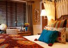 bedroom interior decoration with eclectic interior design and venetian blinds from wood rattan and bamboo aso with eclecic design style