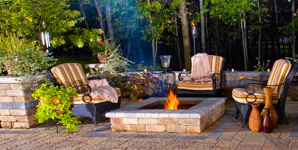 brick-fire-pit-patio-set-for-modern-outdoor-fire-pits