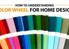 color theory in color wheel design in color pallet for interior paint colors
