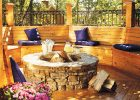 Wood working project: fire pit bench DIY featuring curved fire pit bench with back for outdoor fire pit bench seating design backyard plans