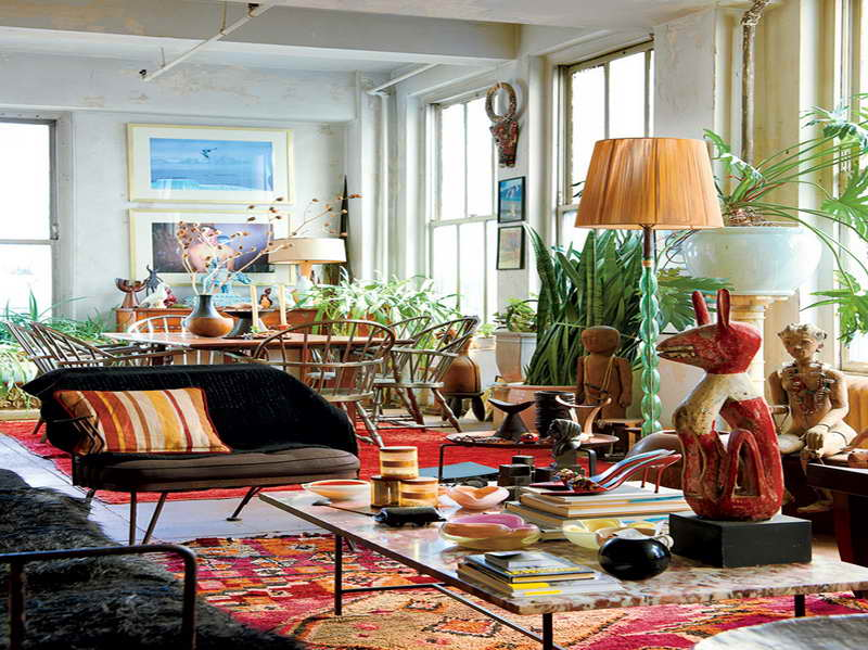 Eclectic decorating style for home interior design roy for Eclectic style furniture