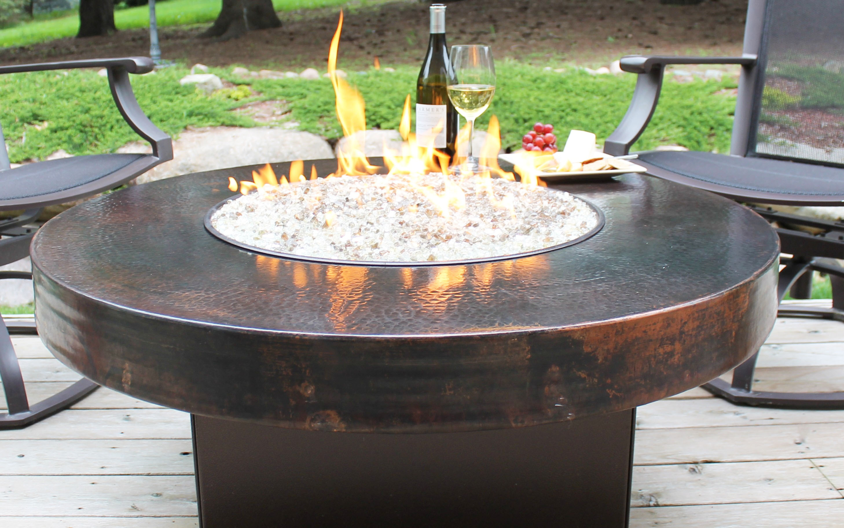 How to make tabletop fire pit kit diy roy home design for Fire pit plans