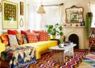 eclectic living room interior design include eclectic furniture also call boho decor capet and sofa with eclectic style