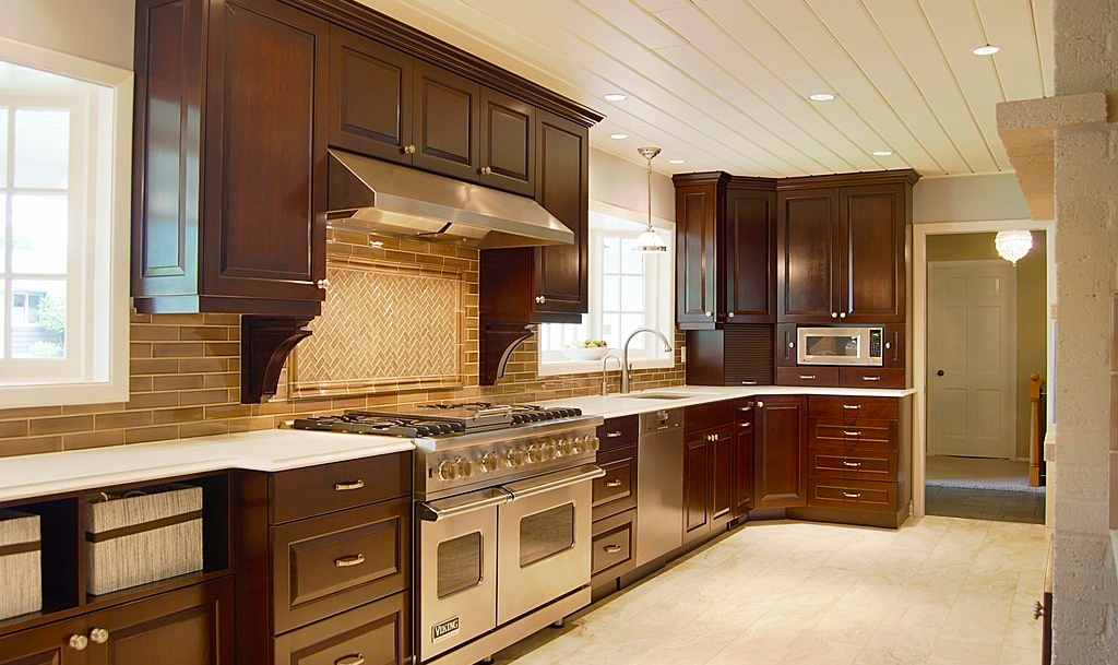 coffee color kitchen cabinets be brave to apply espresso kitchen cabinets with granite 13677