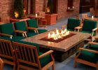 fire pit dining table with propane fire pit table