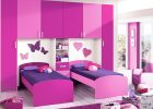 girls bedroom in purple color palette with big windows in the corner with pink purple cool colors swatches with purple rug on the white wood floor
