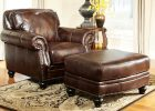 living room chairs with leather ottoman in luxury leather sofa in ottoman furniture with brown leather sofa