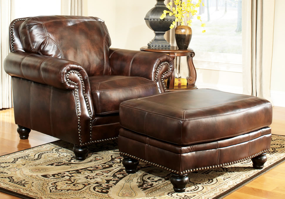 How to decorate living room with leather chair ottoman in ottoman furniture leather chair and ottoman for leather living room furniture
