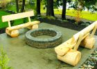 log fire pit beches with simple bench desaign for fire pit bench seating with back wooden fire pit bench