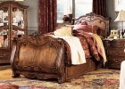 luxury sleigh beds with cherry wood sleigh bed for sleigh bed bedroom sets