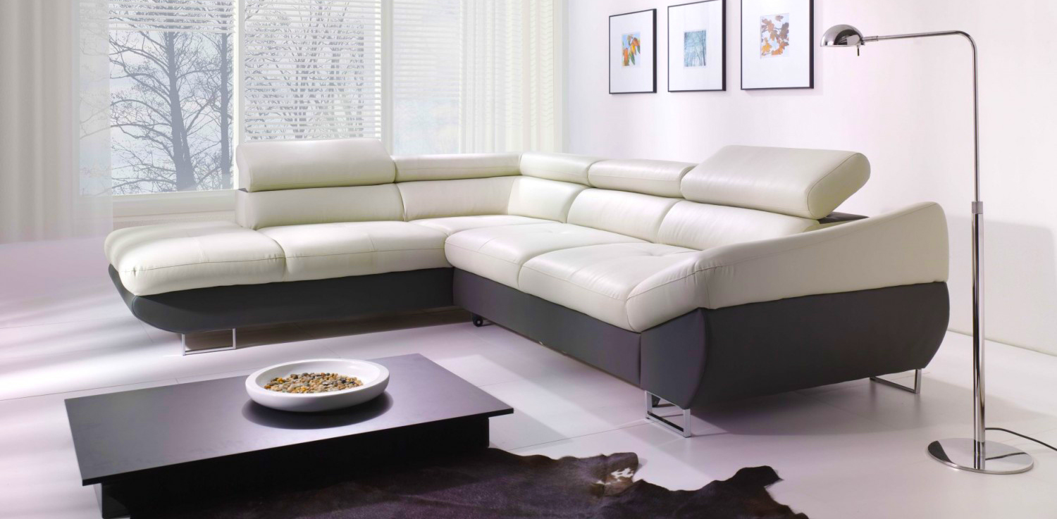 Modern living room sofa for family coziness roy home design for Modern living sofa