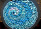 mosaic for round ceramic tiles in blue color ceramic tilesfor ceramic wall tiles and cheap wall tiles in ceramic ideas