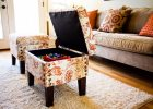 ottoman with storage in ottoman furniture for living room chairs with small ottoman square