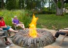 outdoor fire pit with custom fire pits gather with family