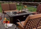 rectangle fire pit table with modern fire pit table sets in black rectangle fire pit in backyard outdoor fire pit