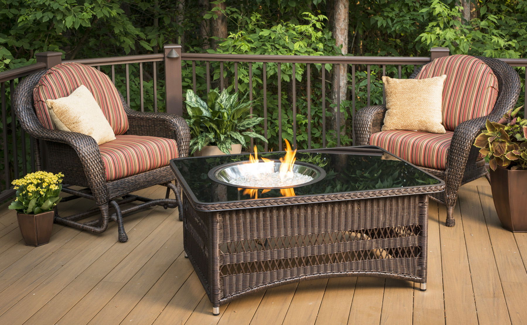 Important Parts of Rectangular Fire Pit Table